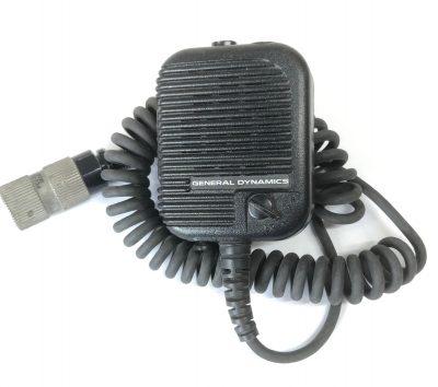 General Dynamics speaker mic