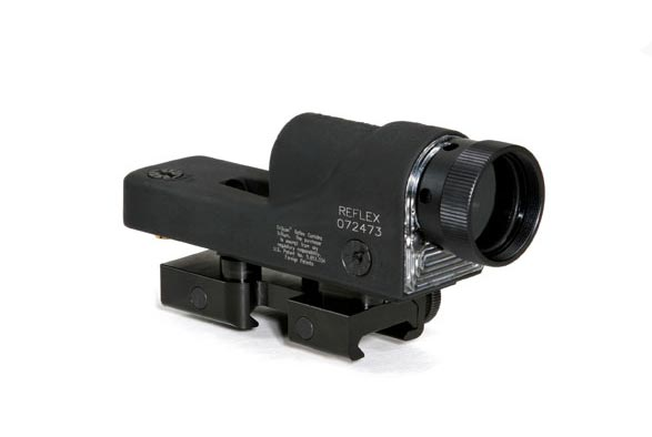 Trijicon Reflex RX01NSN —4.5 MOA Amber Dot with Flattop Mount