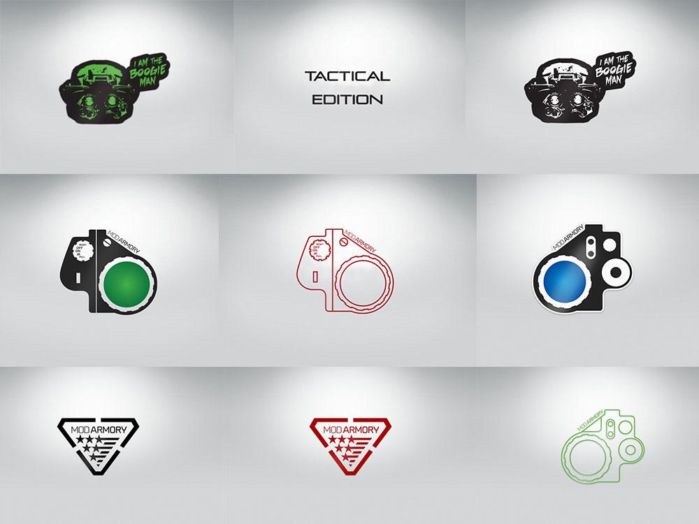 MOD Armory Stickers