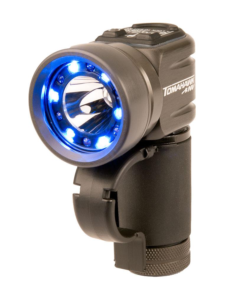 First Light Tomahawk NV Tactical Light - Blue
