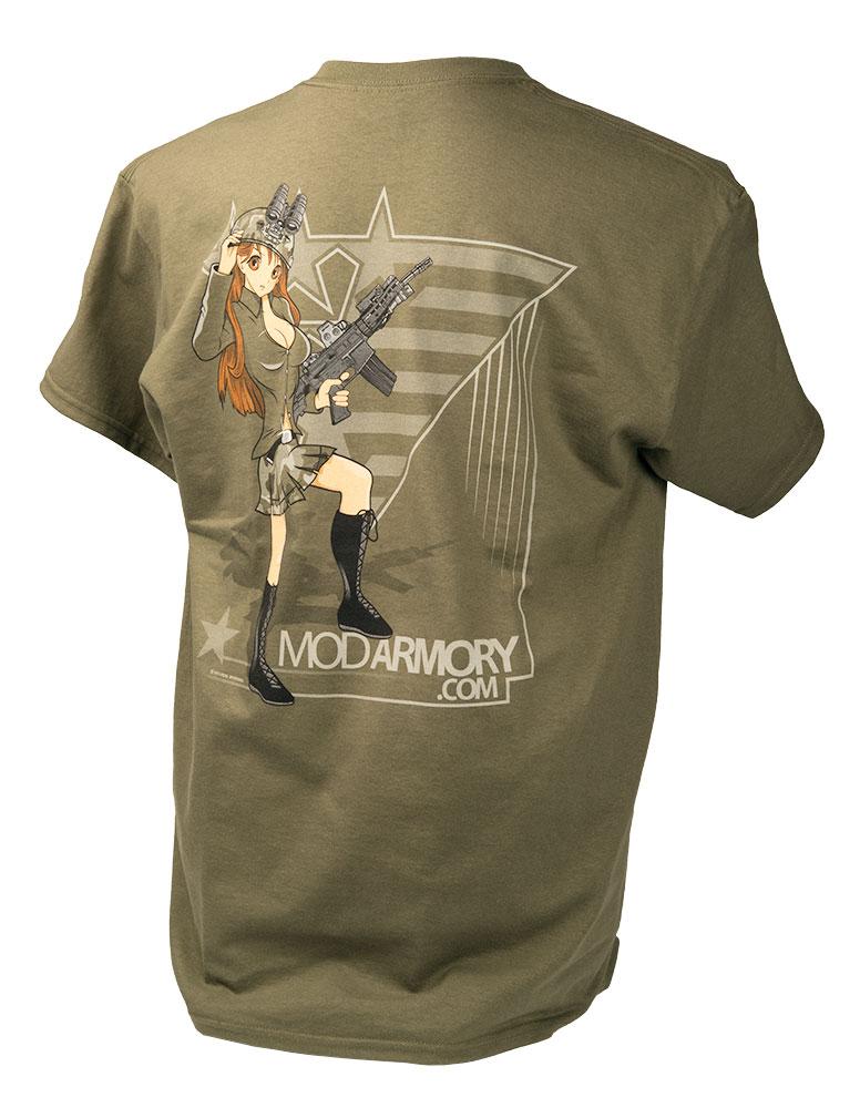 MOD Armory Anime Girl