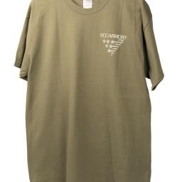 MOD T-shirt Front Green