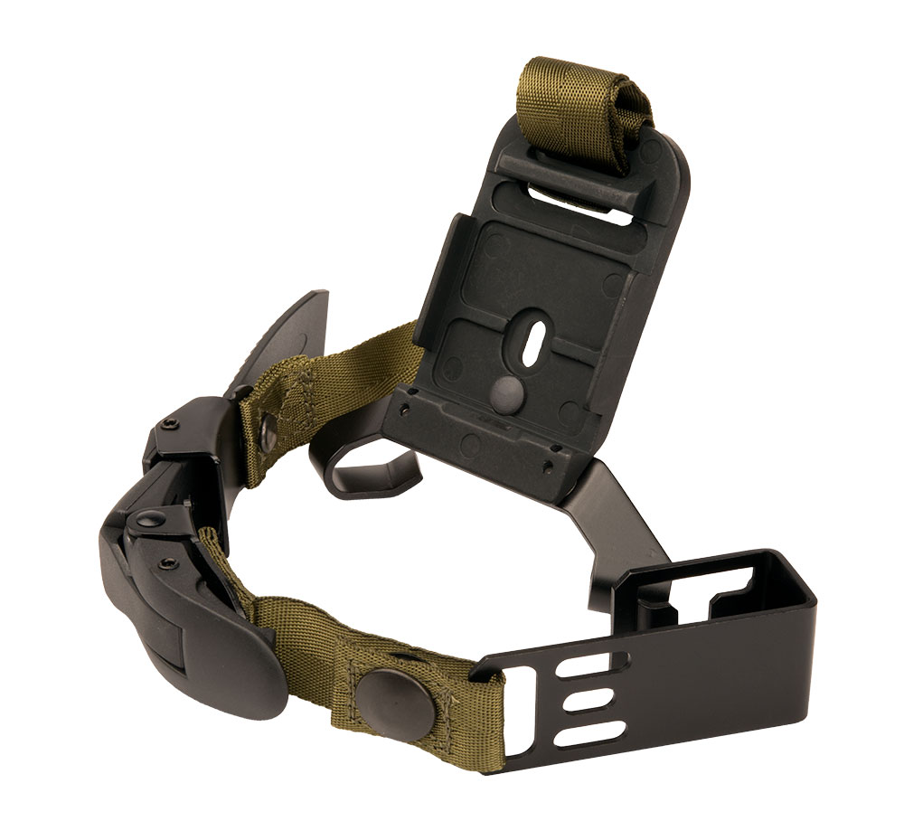 The USGI PASGT Front Bracket Mount Inc Nylon Strap