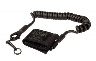 BLACKHAWK Tactical Pistol Lanyard Coiled