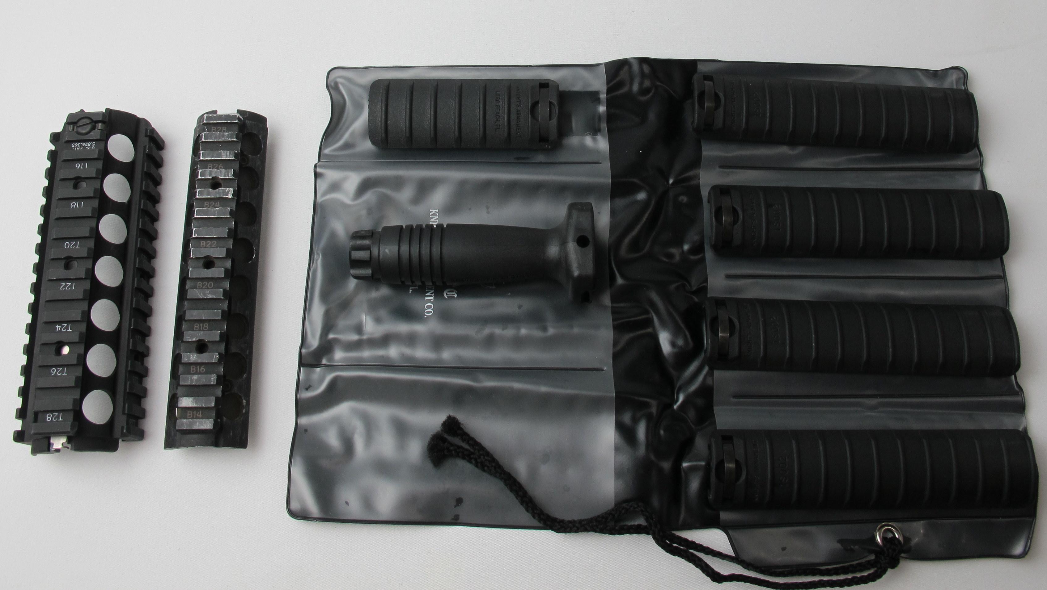Rail, M4, System, Pistol grip