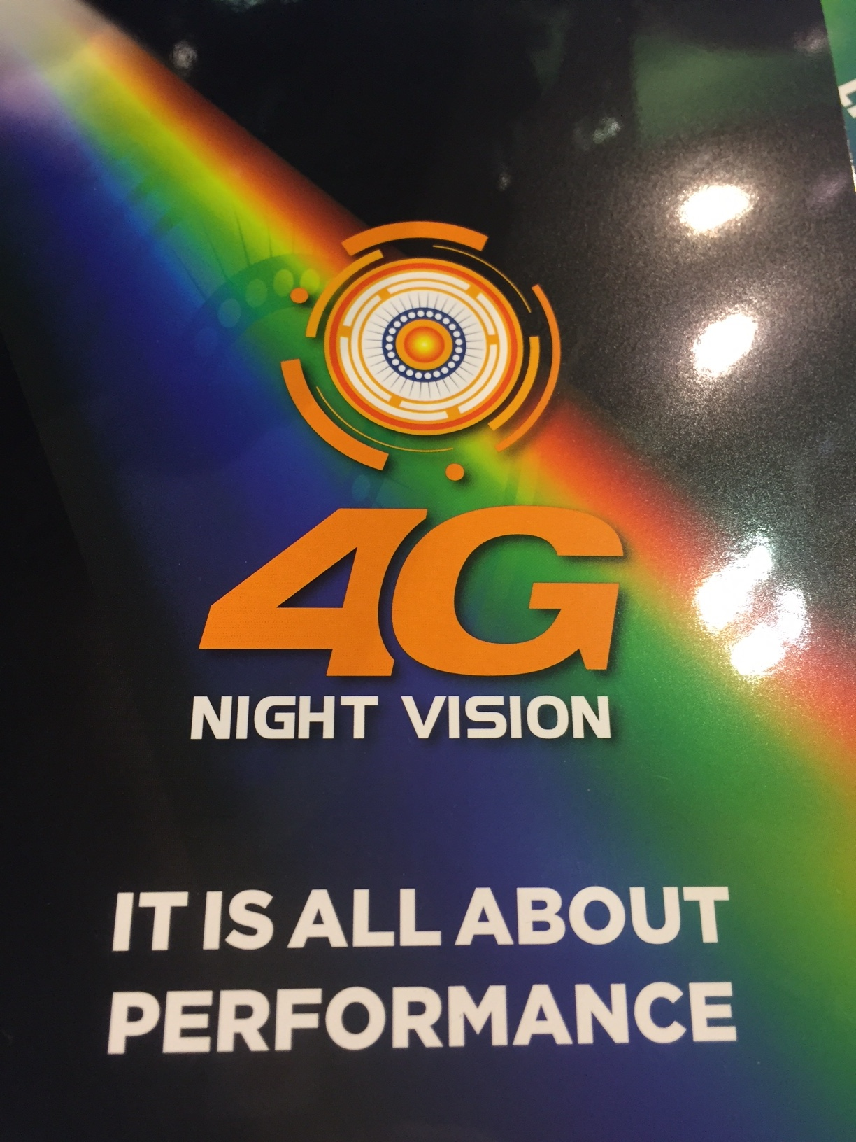 4G Intens™ Night Vision Intensifier tube from Photonis