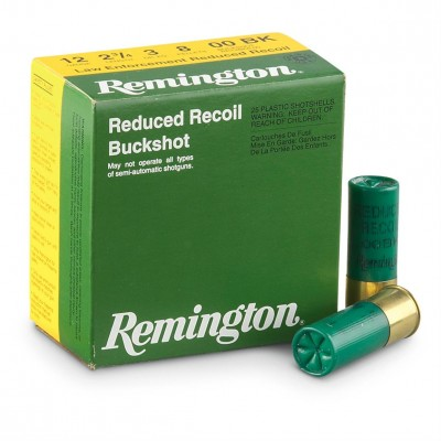 reduced recoil buckshot