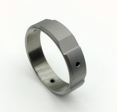 Precision Machine Titanium Ring