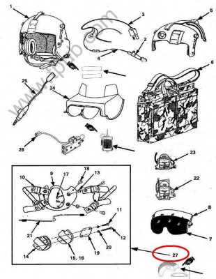helmet kit
