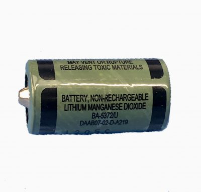 Ultralife BA-5372 6 volt battery
