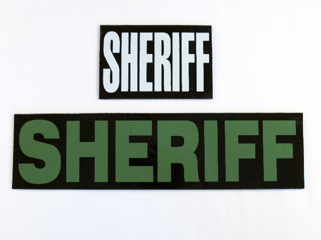IR Patch Sheriff Reflective Markers